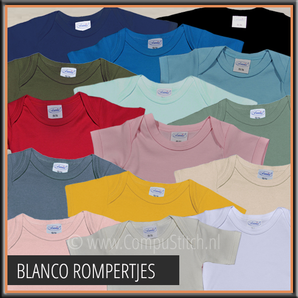 BLANCO ROMPERS